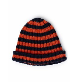 Bobo Choses Bobo Choses beanie orange striped medieval