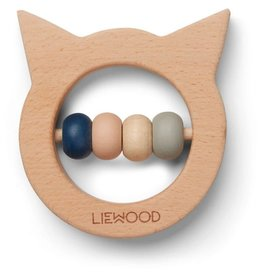 Liewood Liewood Ivalu bijtring hout cat natural