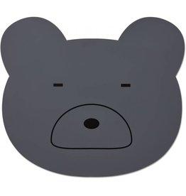 Liewood Liewood Aura placemat mr bear stone grey