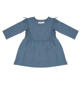 Little Indians Little Indians boho dress blue