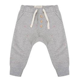 Little Indians Little Indians pants angle grey melange