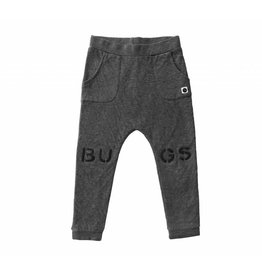 Sproet & Sprout Sproet & Sprout sweat pants bugs at knees dark grey melee