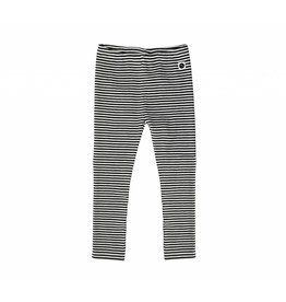 Sproet & Sprout Sproet & Sprout legging black & milk stripe