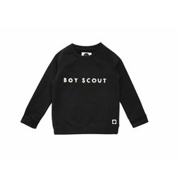 Sproet & Sprout Sproet & Sprout sweater raglan boyscout black