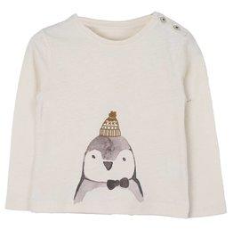 Emile et Ida Emile et Ida t-shirt ecru pingouin