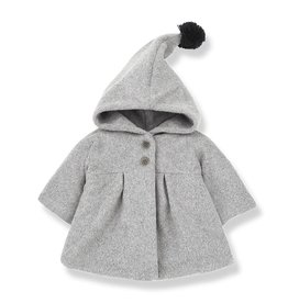 1 + in the family 1 + in the family coat isabella light grey