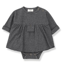1 + in the family 1 + in the family dress with body iria blue/grey