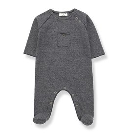 1 + in the family 1 + in the family jumpsuit asier blue/grey