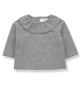 1 + in the family 1 + in the family blouse clementina mid grey