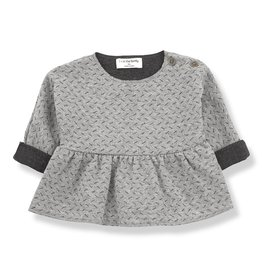 1 + in the family 1 + in the family blouse muriel anthracite/grey
