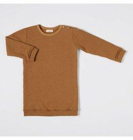 Nixnut Nixnut sweat dress rust