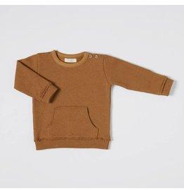 Nixnut Nixnut kangaroo sweater rust
