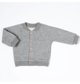 Nixnut Nixnut bomber vest grey