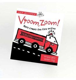 Wee Gallery Wee Gallery sound book Vroom, Zoom