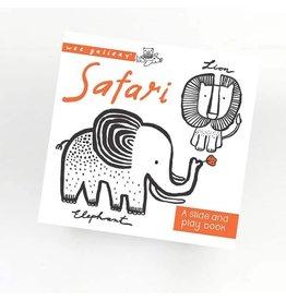 Wee Gallery Wee Gallery slide&play board book safari