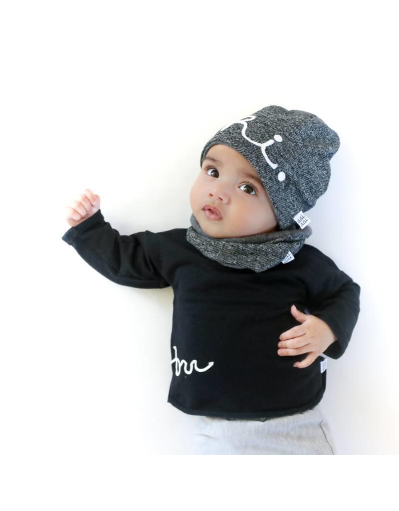 aai aai aai aai sweater BRR black