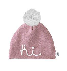 aai aai aai aai winterbeanie pink