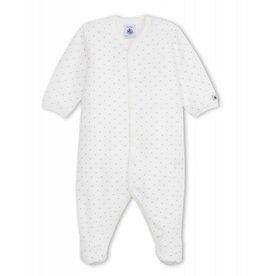 Petit Bateau Petit Bateau pyjama velours sterretjes