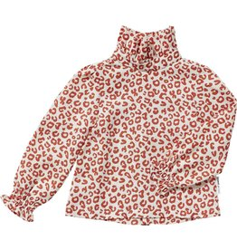 maed for mini maed for mini blouse red leopard aop