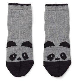 Liewood Liewood Silas kousjes wol panda grey melange