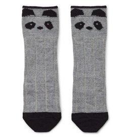 Liewood Liewood Sofia kniekousjes wol panda grey melange
