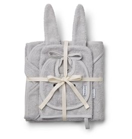 Liewood Liewood Adele terry baby package rabbit dumbo grey