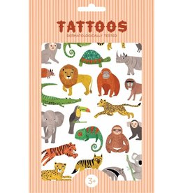 Petit Monkey Petit Monkey tattoos jungle animals