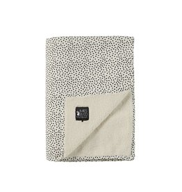 Mies & Co Mies & Co deken soft teddy cozy dots offwhite