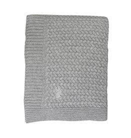Mies & Co Mies & Co deken soft knitted soft grey