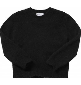 maed for mini maed for mini knit sweater black bird