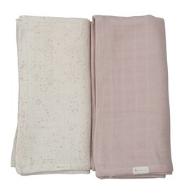 Fabelab Fabelab set of 2 swaddles autumn mist