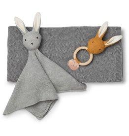Liewood Liewood baby knit package grey melange