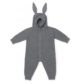 Liewood Liewood Linus knit jumpsuit rabbit grey melange