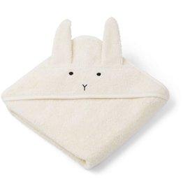 Liewood Liewood Albert badcape 70x70 rabbit creme de la creme