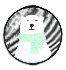 Play&Go Play&Go opbergzak soft polar bear