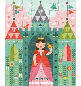 Petit Collage Petit Collage puzzel 64-delig prinses in het kasteel