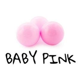 Misioo Misioo 50 extra ballen baby pink