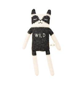 main sauvage main sauvage raccoon soft toy wild