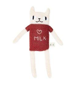 main sauvage main sauvage cat soft toy milk sienna