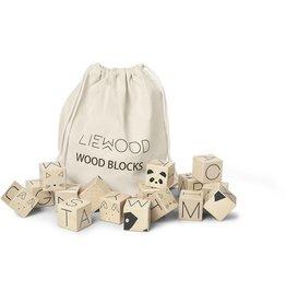 Liewood Liewood wood blocks natural