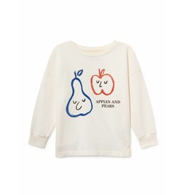 Bobo Choses Bobo Choses sweatshirt round neck apples and pears