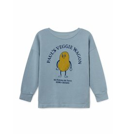 Bobo Choses Bobo Choses sweatshirt round neck pomme de terre