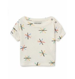 Bobo Choses Bobo Choses t-shirt dandelion linen