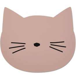 Liewood Liewood Aura placemat cat rose