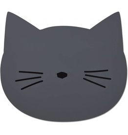 Liewood Liewood Aura placemat cat stone grey