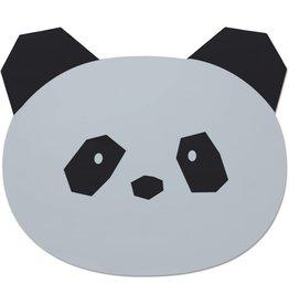 Liewood Liewood Aura placemat  panda dumbo grey