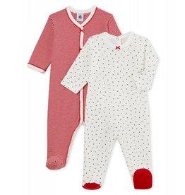 Petit Bateau Petit Bateau Barbichett set van 2 pyjama's