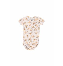 Gro Gro Albi body short sleeve ecru/multi