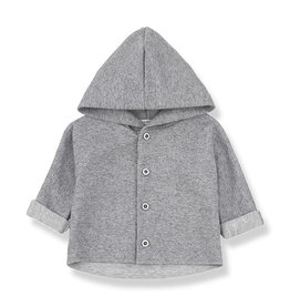 1 + in the family 1+ in the family waldo hood jacket grey