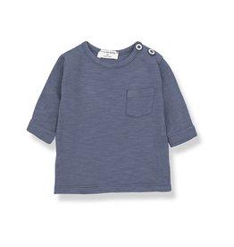 1 + in the family 1+ in the family John longsleeve t-shirt indigo